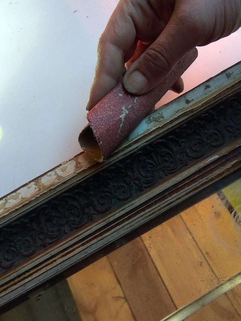 Деревянная рама для зеркала - ремонт своими руками