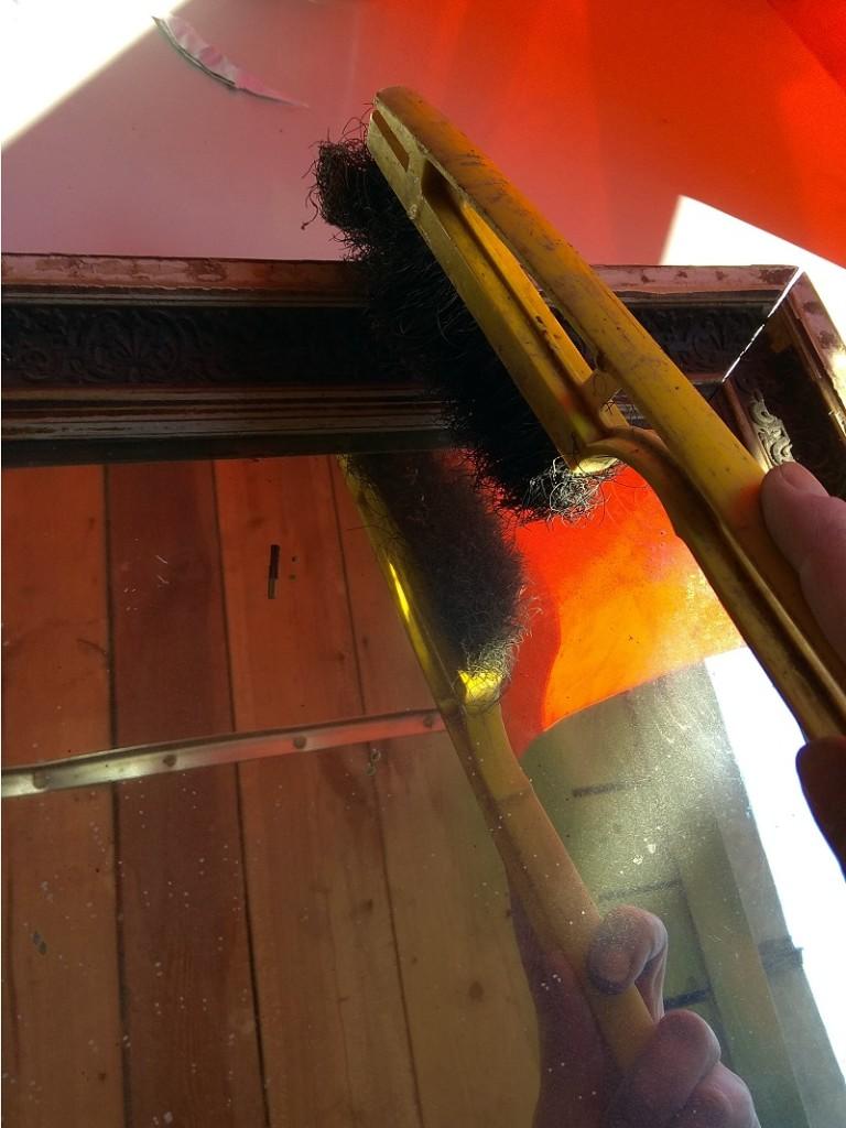 Ремонт деревянной рамы для зеркала