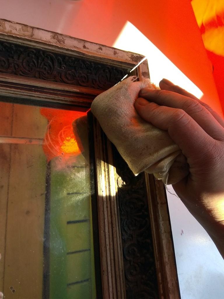 Ремонт рамы для зеркала